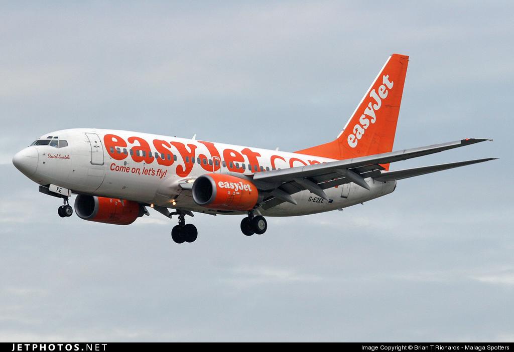 G-EZKE - Boeing 737-73V - easyJet