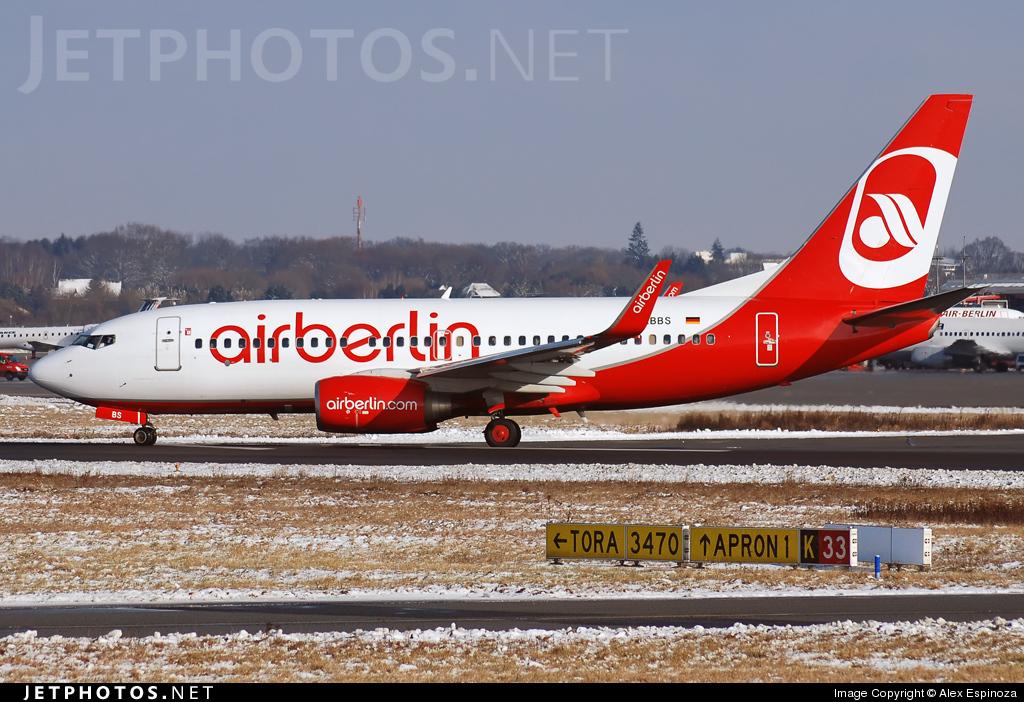 D-ABBS - Boeing 737-76N - Air Berlin