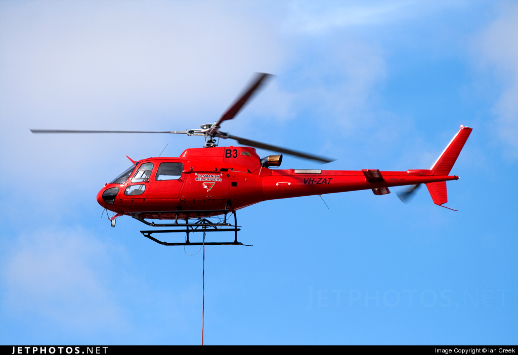 VH-ZAT - Eurocopter AS 350B3 Ecureuil - Private