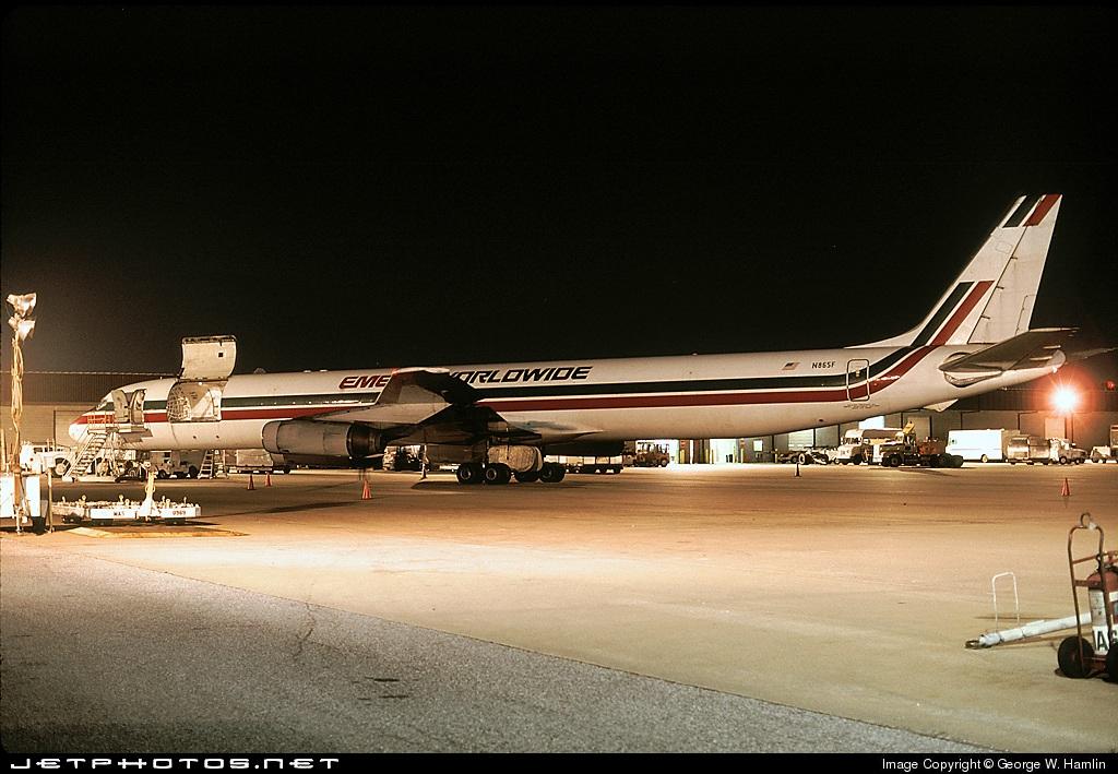 N865F - Douglas DC-8-63(CF) - Emery Worldwide