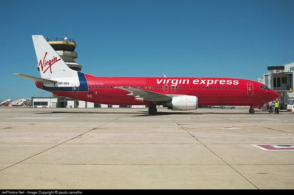 OO-VES - Boeing 737-43Q - Virgin Express