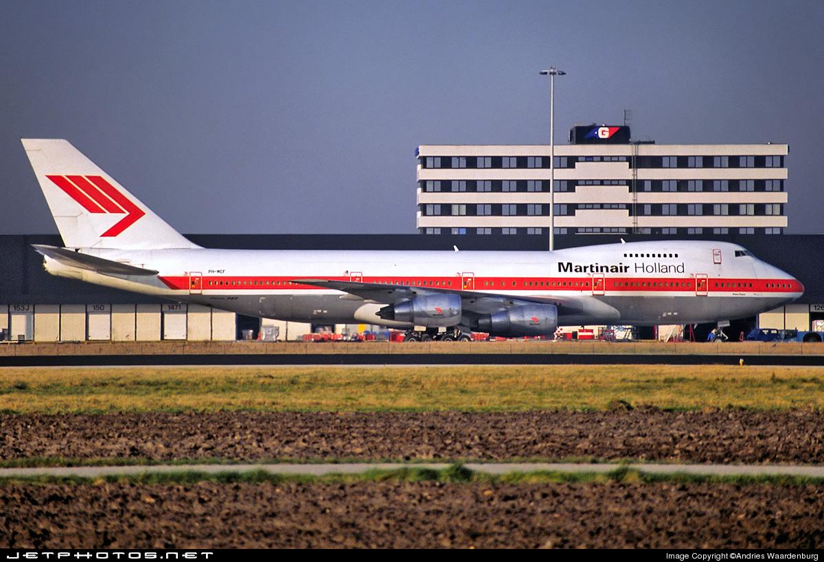PH-MCF - Boeing 747-21AC(SCD) - Martinair Holland