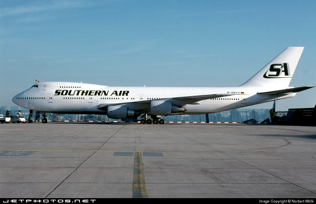 D-ABYT - Boeing 747-230B(SF) - Southern Air