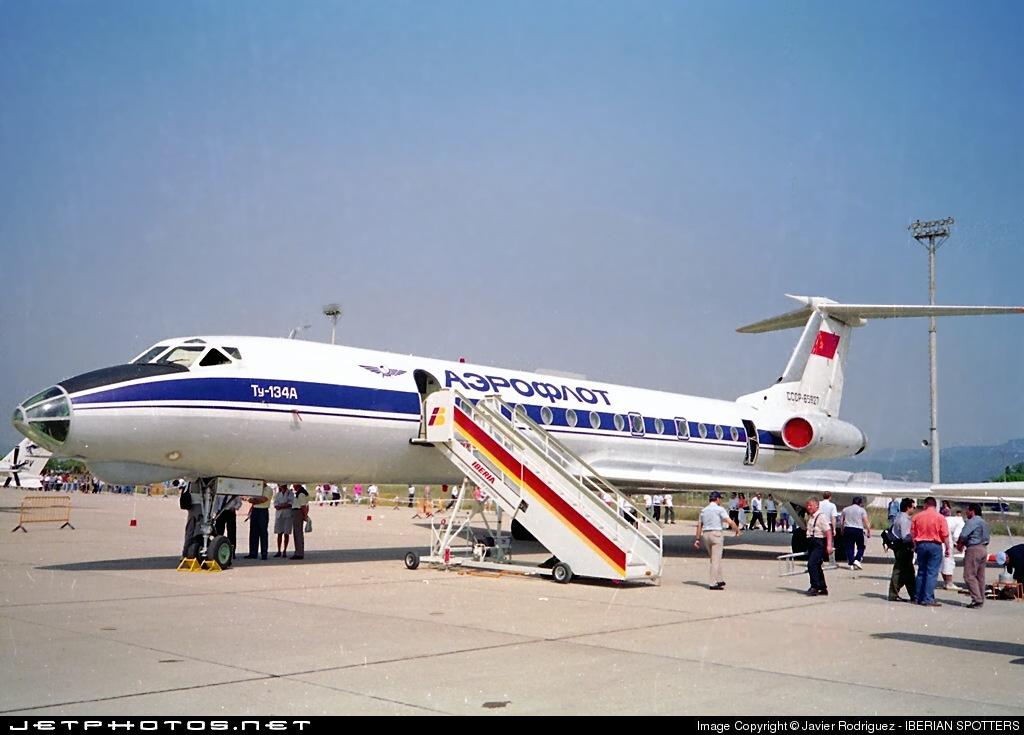 CCCP-65927 - Tupolev Tu-134A - Aeroflot