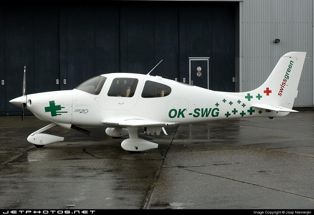 OK-SWG - Cirrus SR20 - Swissgreen