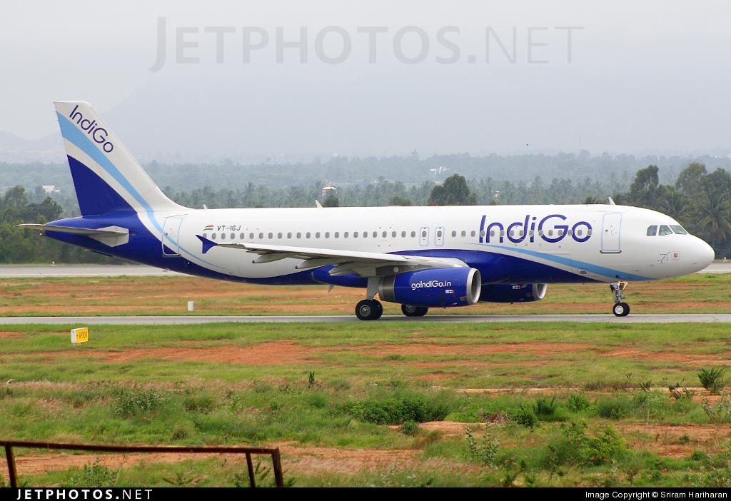 VT-IGJ - Airbus A320-232 - IndiGo Airlines