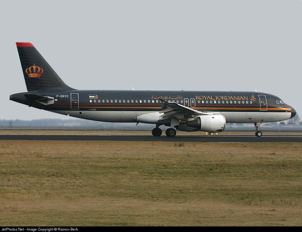 F-OGYC - Airbus A320-212 - Royal Jordanian