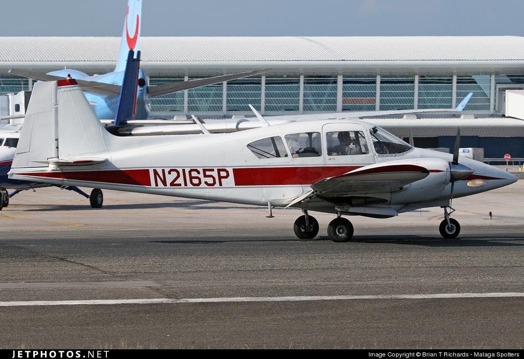 N2165P - Piper PA-23-150 Apache - Private