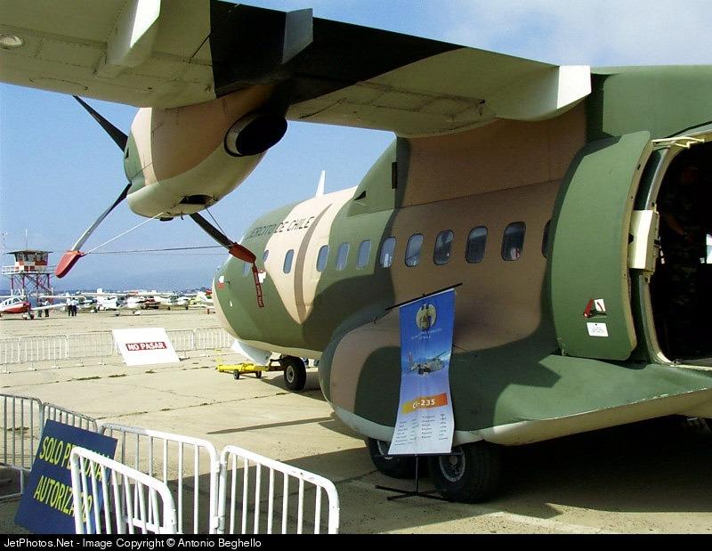 215 - CASA CN-235M-100 - Chile - Army