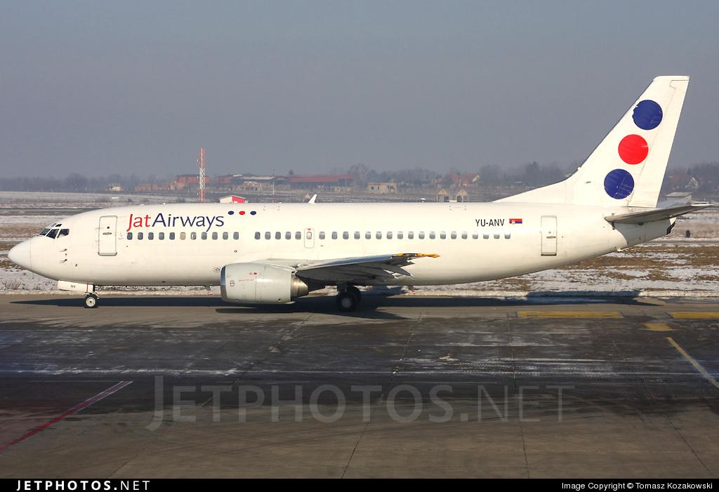 YU-ANV - Boeing 737-3H9 - Jat Airways