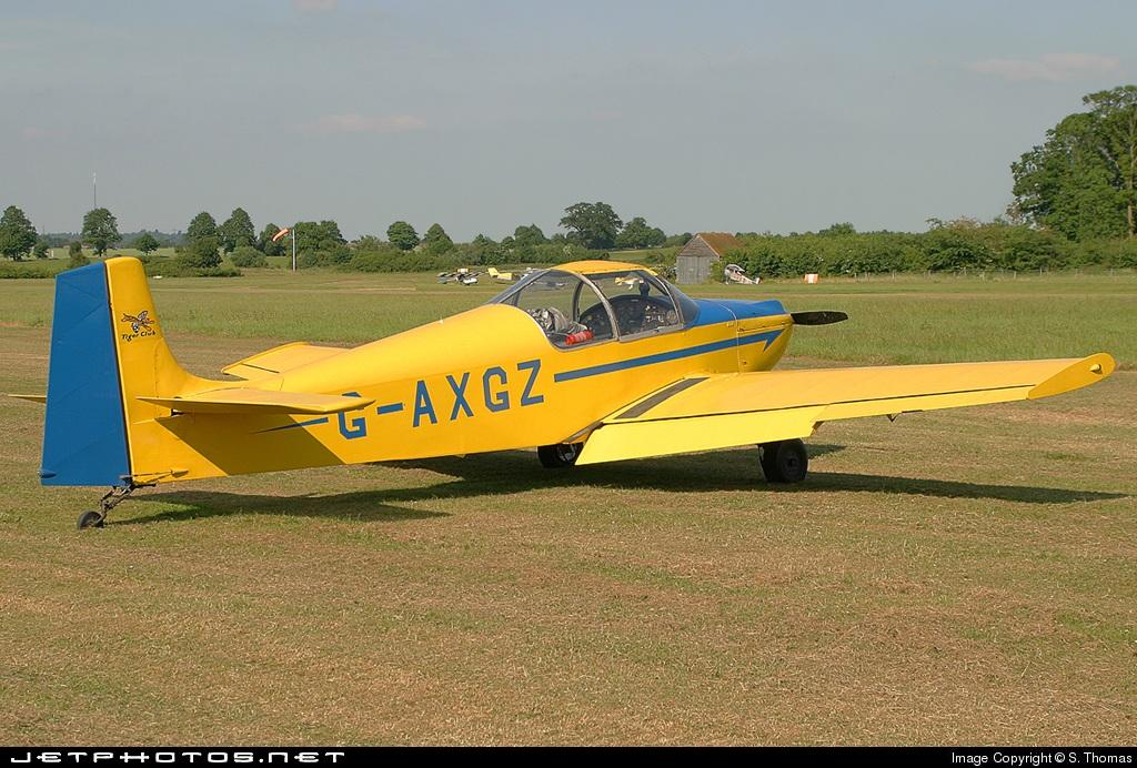 G-AXGZ - Druine D.62B Condor - Private