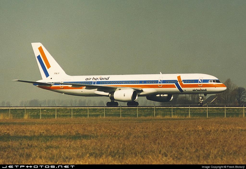 PH-AHF - Boeing 757-27B - Air Holland