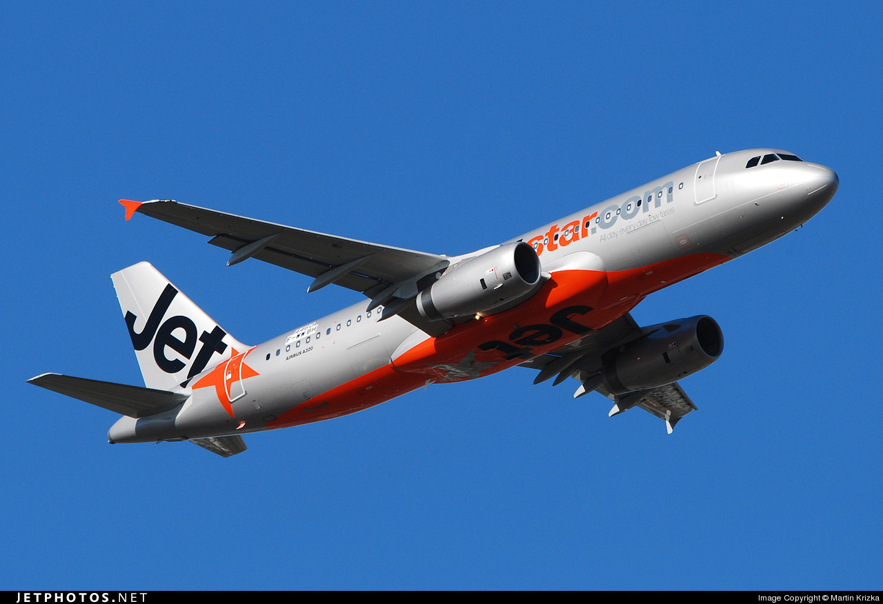 F-WWBH - Airbus A320-232 - Jetstar Airways
