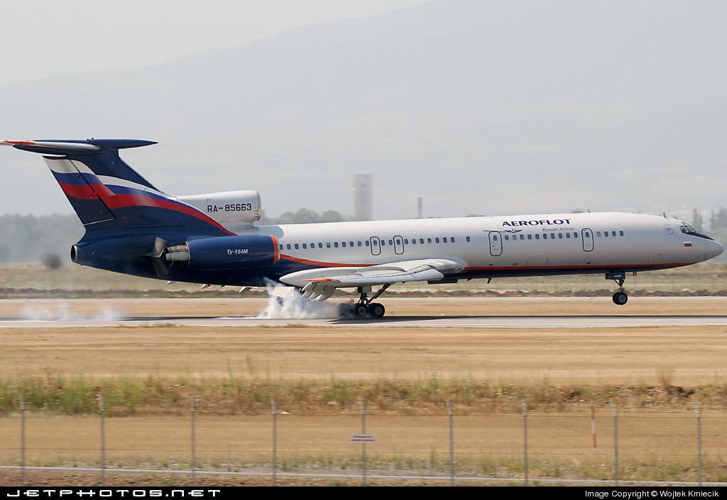RA-85663 - Tupolev Tu-154M - Aeroflot
