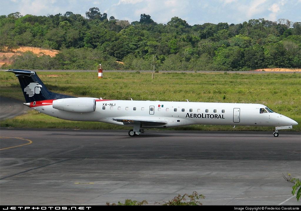 XA-NLI - Embraer ERJ-145ER - Aerolitoral