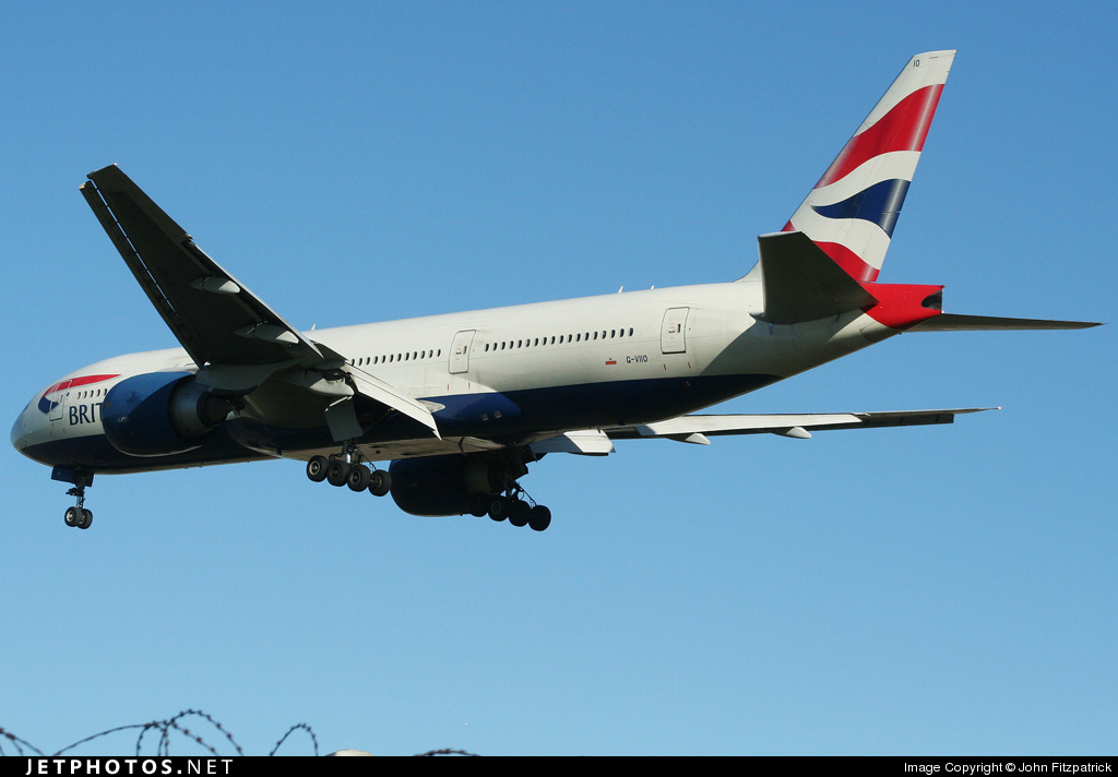 G-VIIO - Boeing 777-236(ER) - British Airways