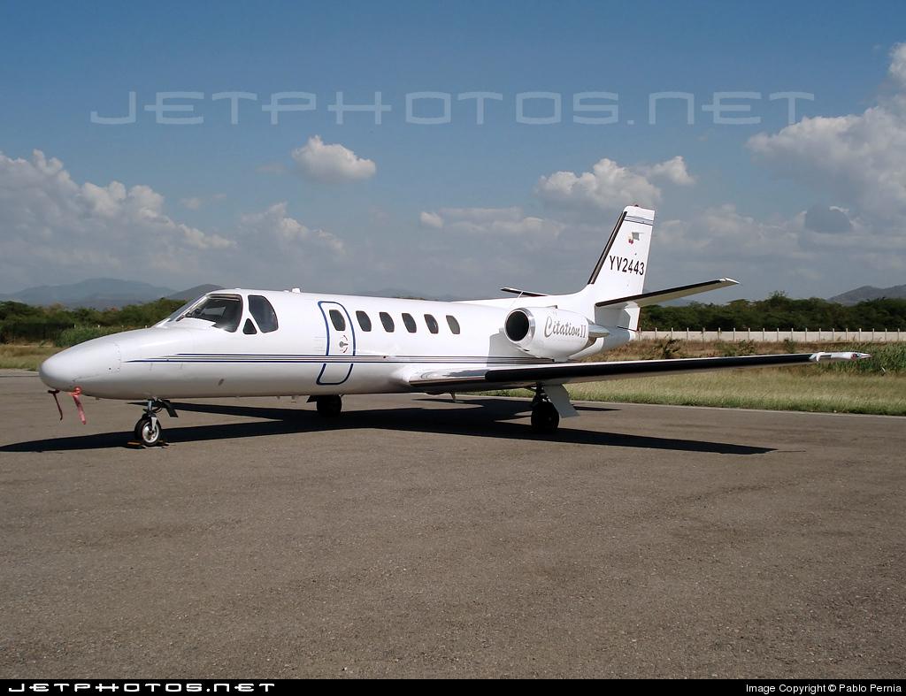 YV2443 - Cessna 550 Citation II - Private