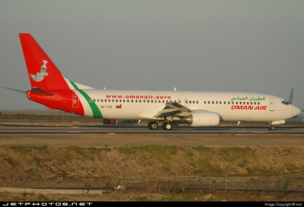 OK-TVQ - Boeing 737-86N - Oman Air (Travel Service)