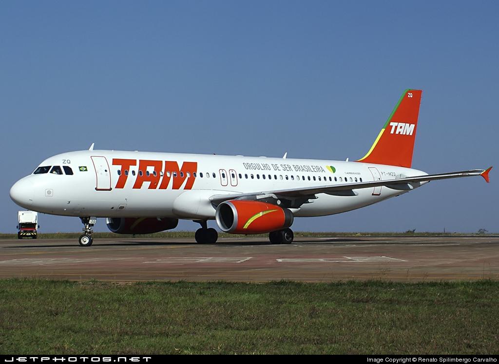 PT-MZQ - Airbus A320-231 - TAM Linhas Aéreas
