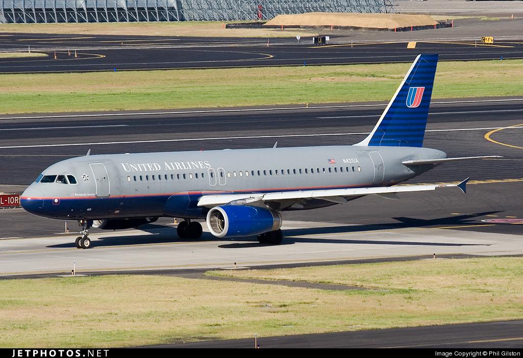 N431UA - Airbus A320-232 - United Airlines