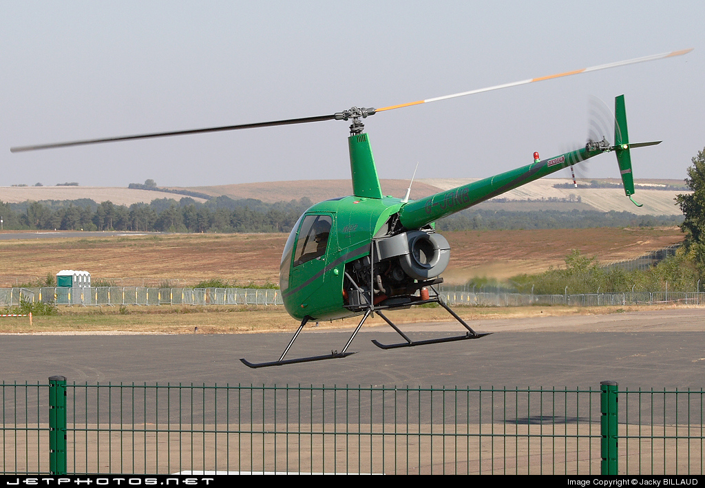 G-JONB - Robinson R22 Beta II - Private