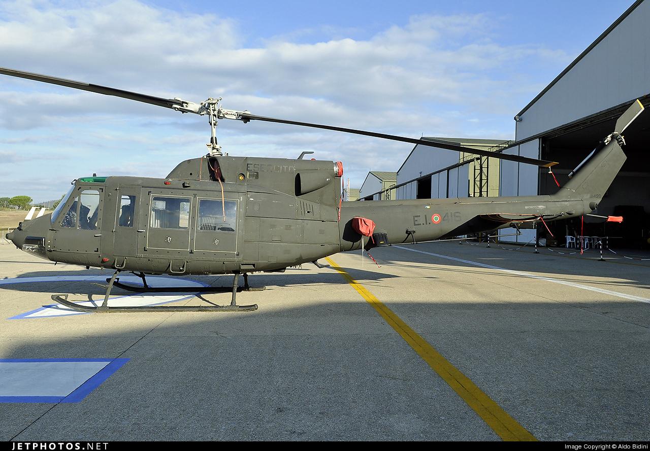 MM81499 - Agusta-Bell AB-212AM - Italy - Army