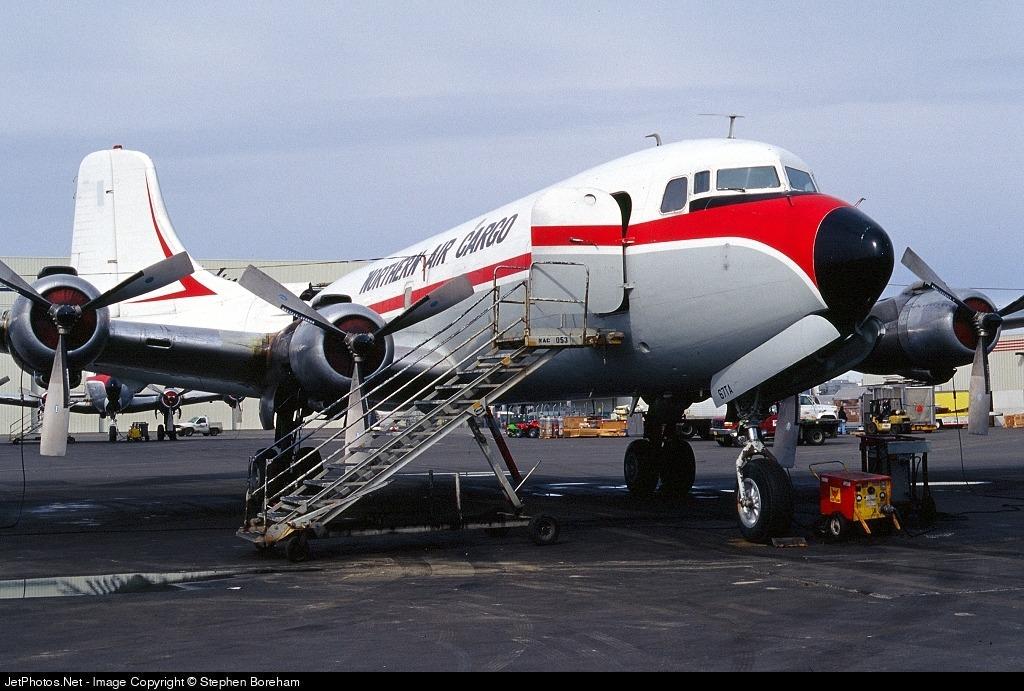 N867TA - Douglas DC-6B(F/ST) - Northern Air Cargo (NAC)