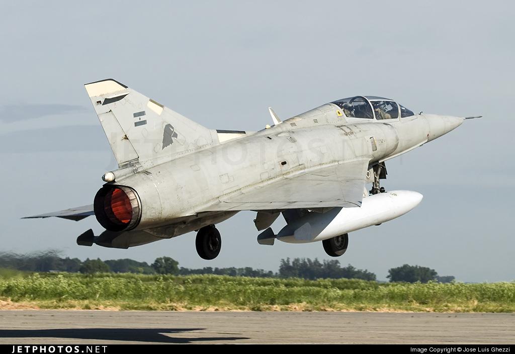 I-002 - Dassault Mirage 3DA - Argentina - Air Force