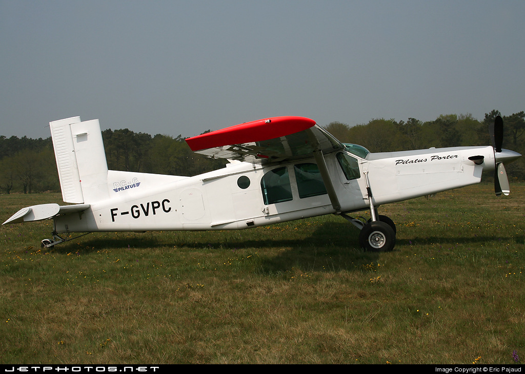 F-GVPC - Pilatus PC-6/B2-H4 Turbo Porter - Private