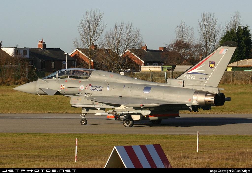 ZH590 - Eurofighter Typhoon 2000(T) - United Kingdom - Royal Air Force (RAF)