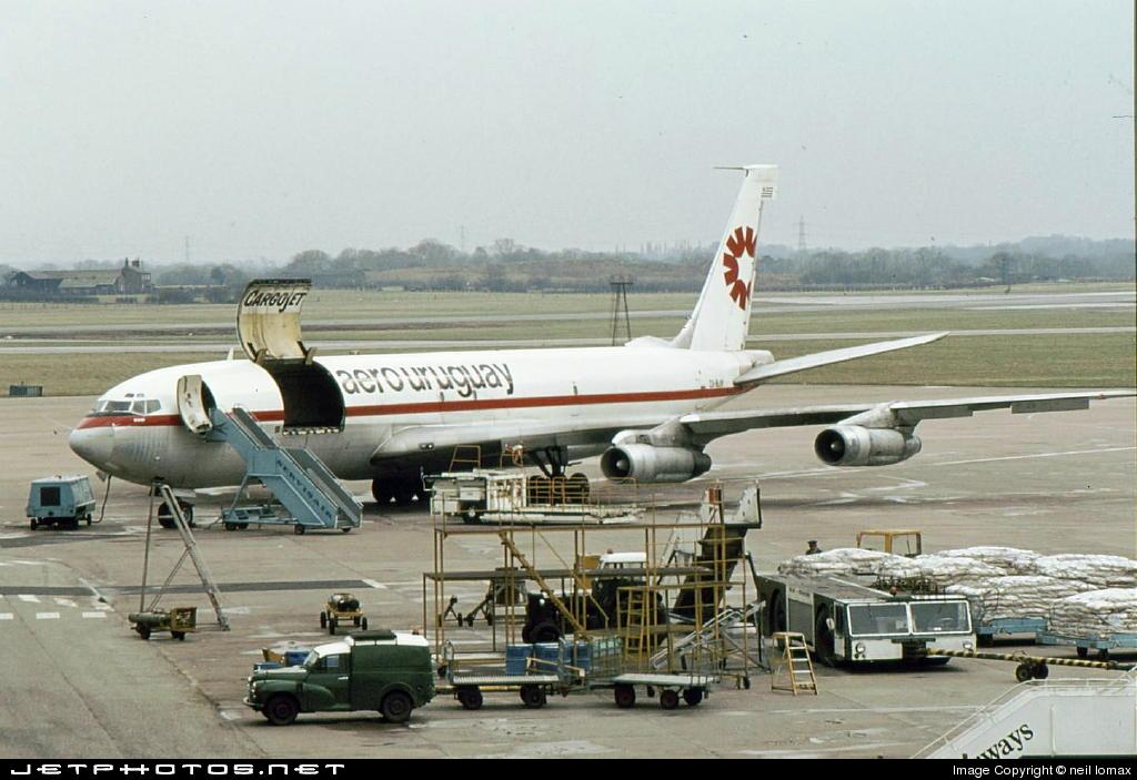 CX-BJV - Boeing 707-331C - Aero Uruguay