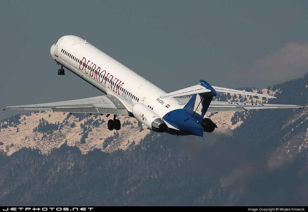 9A-CDA - McDonnell Douglas MD-83 - Dubrovnik Airline