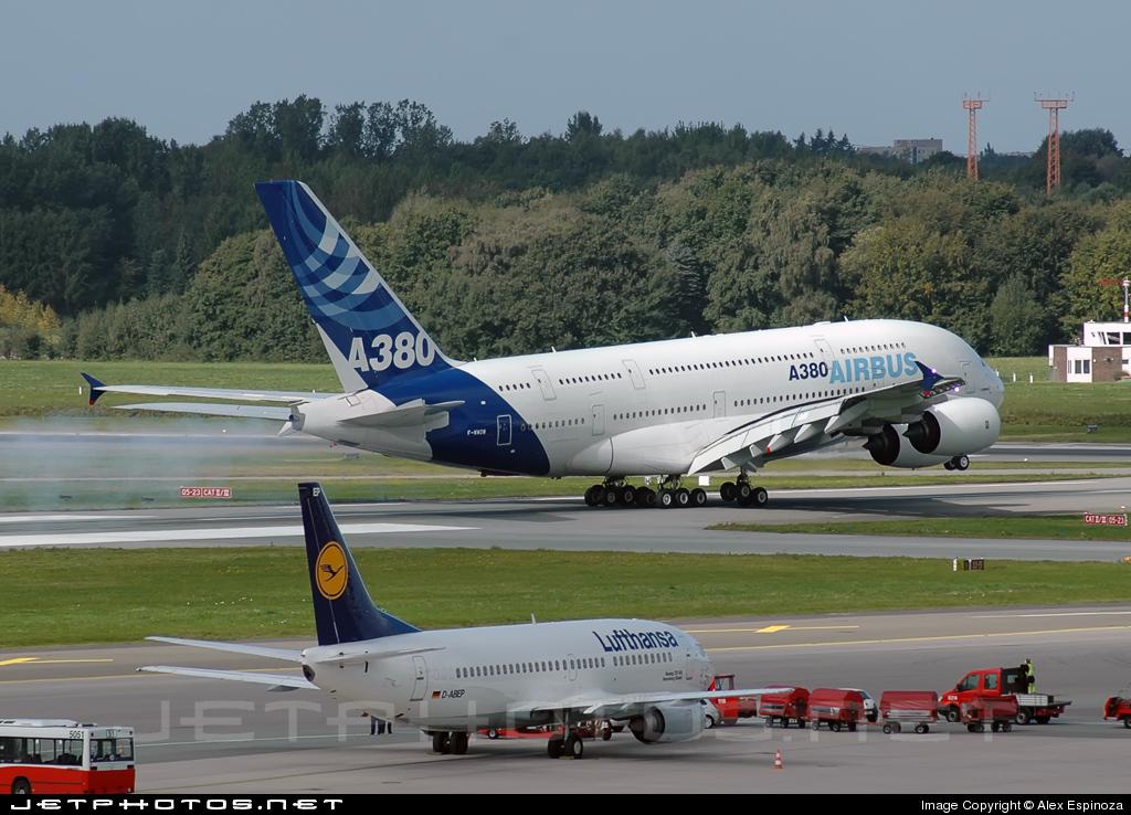 F-WWOW - Airbus A380-841 - Airbus Industrie