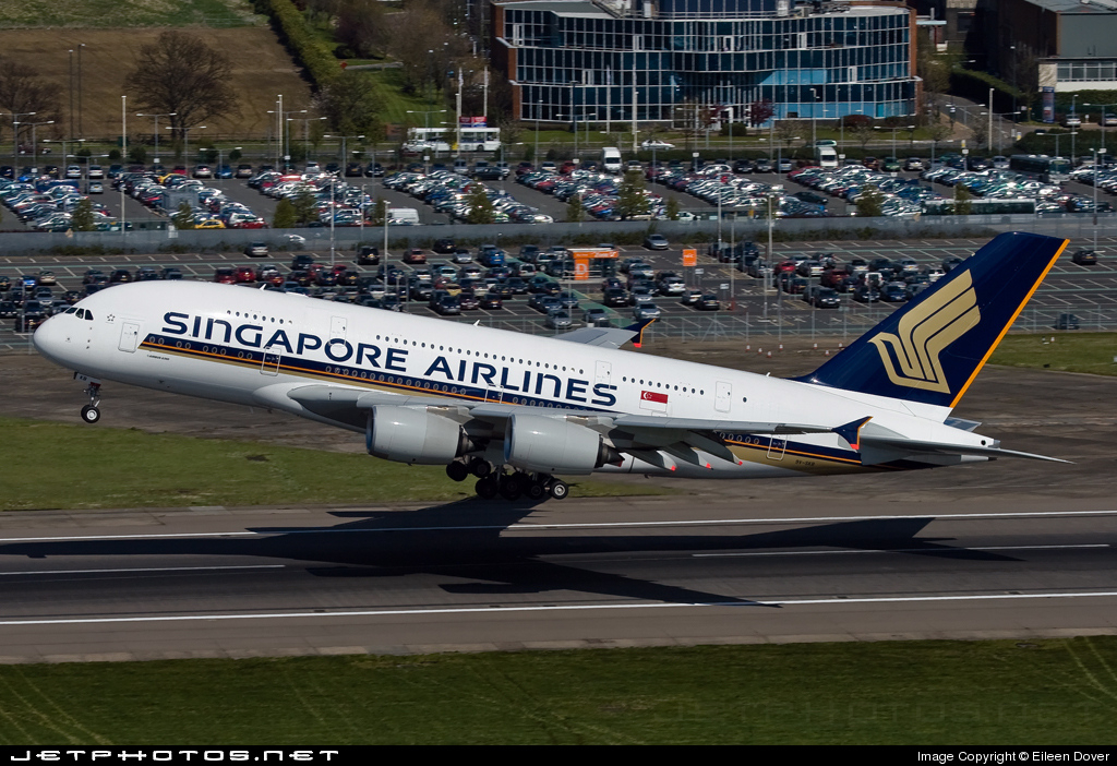 9V-SKB - Airbus A380-841 - Singapore Airlines