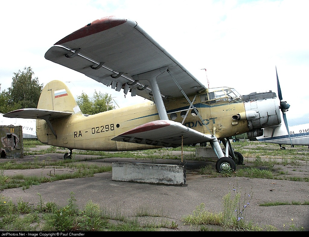 RA-02298 - Antonov An-2 - Unknown