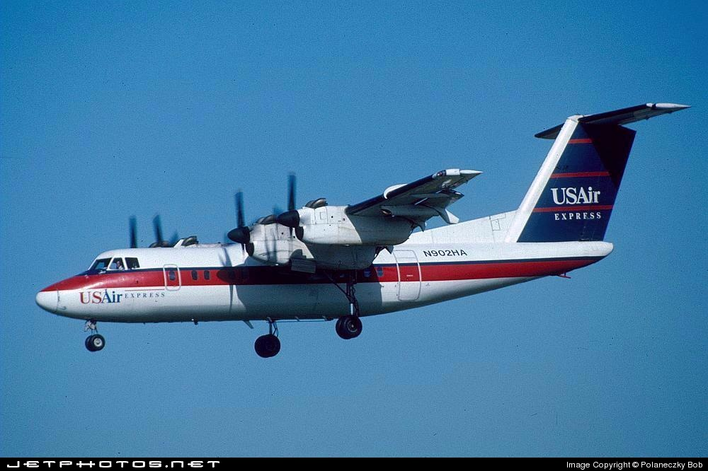 N902HA - De Havilland Canada DHC-7-102 Dash 7 - US Airways Express (Piedmont Airlines)