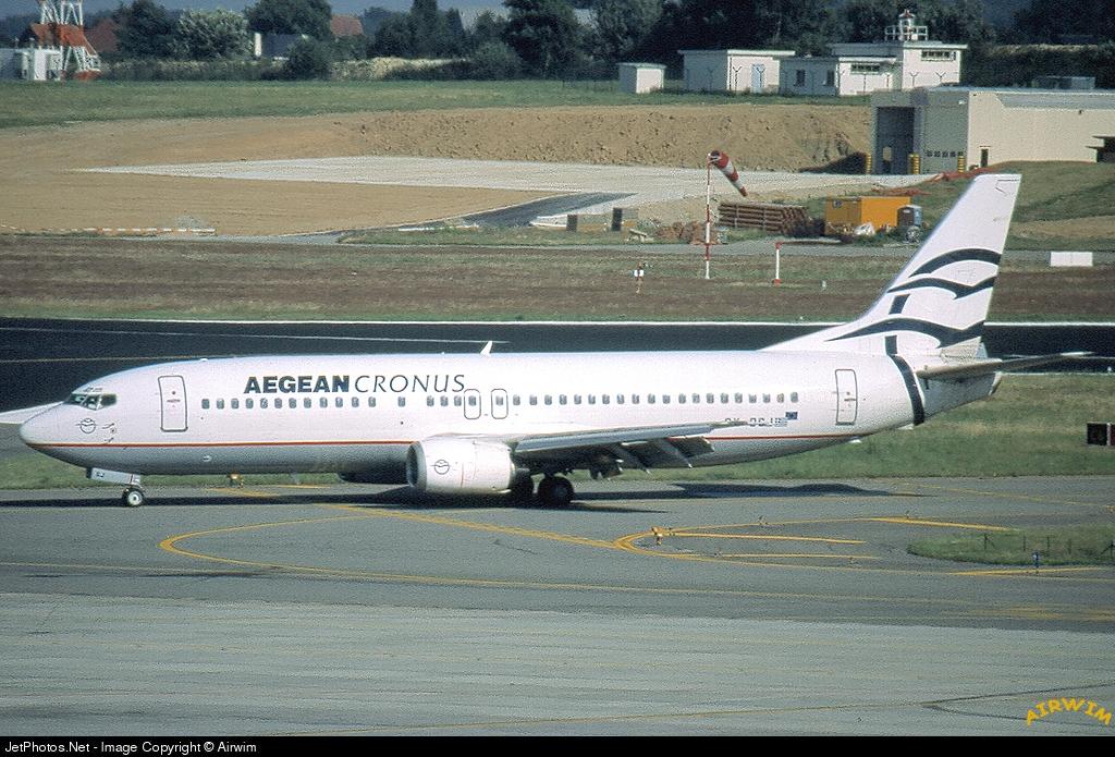 SX-BGJ | Boeing 737-4S3 | Aegean Cronus Airlines | Airwim | JetPhotos