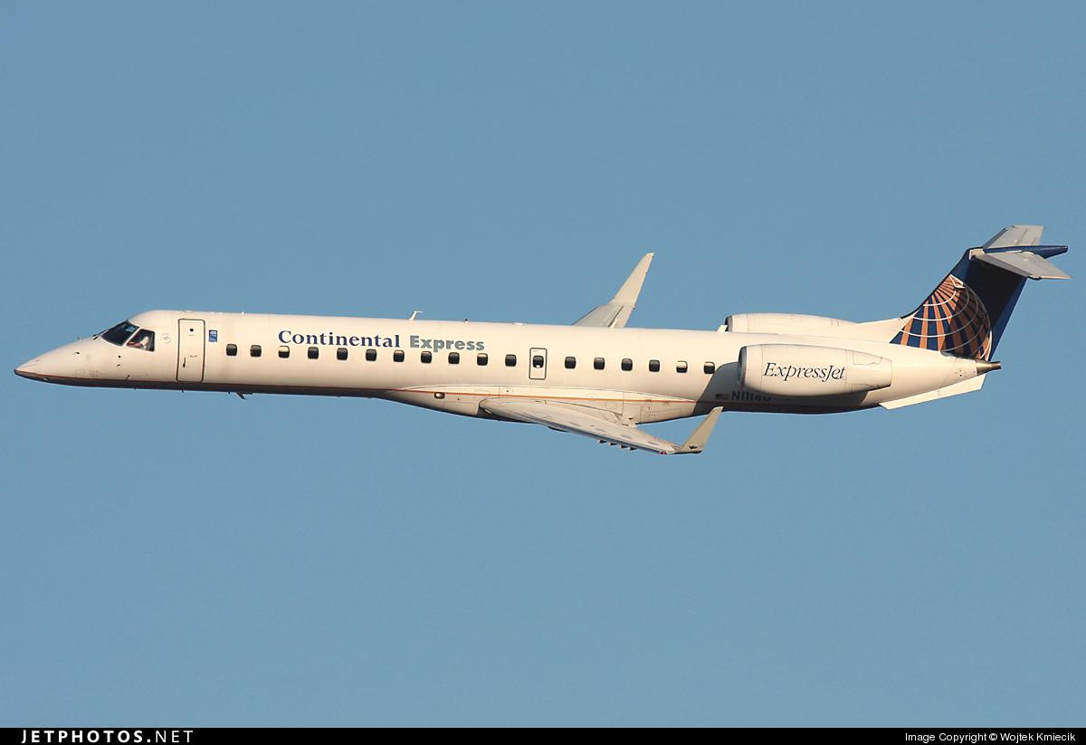 N11140 - Embraer ERJ-145XR - Continental Express (ExpressJet Airlines)