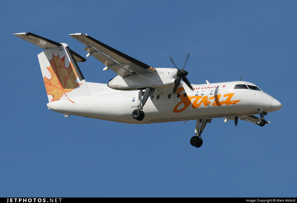 C-GJMI - Bombardier Dash 8-102 - Air Canada Jazz