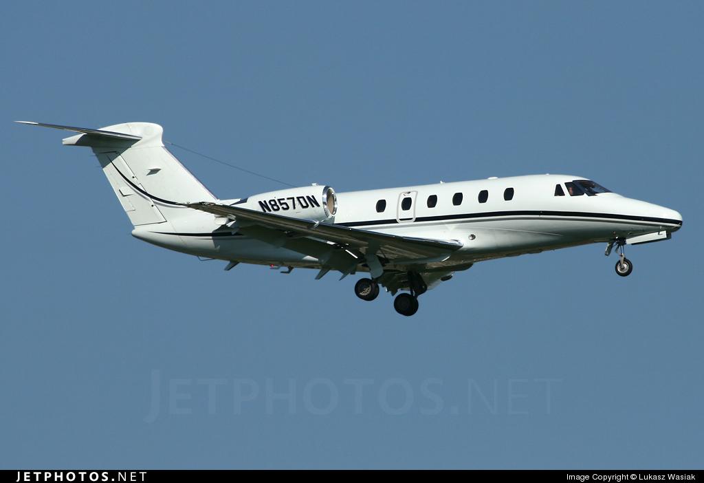 N857DN - Cessna 650 Citation III - Private