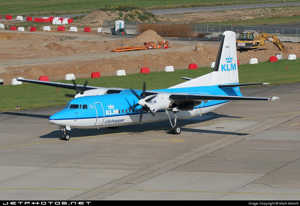 PH-LXR - Fokker 50 - KLM Cityhopper