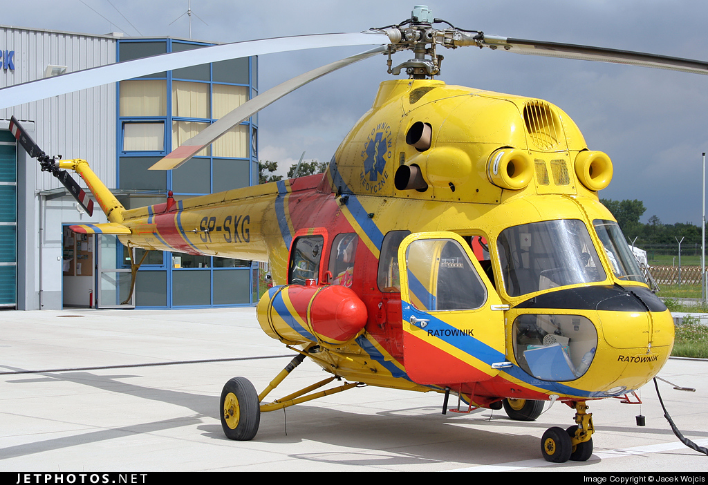 SP-SXG - PZL-Swidnik Mi-2 Hoplite - Lotnicze Pogotowie Ratunkowe