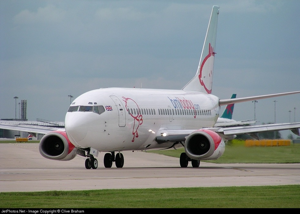 G-OBMP - Boeing 737-3Q8 - bmibaby