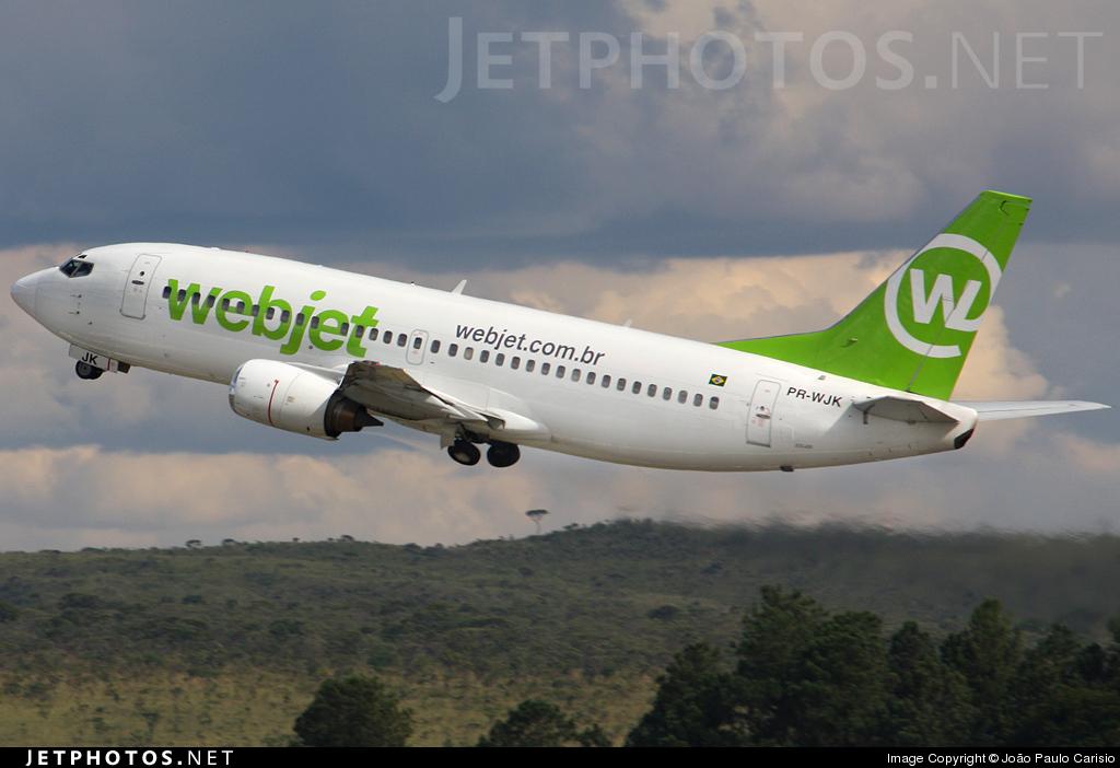 PR-WJK - Boeing 737-33A - WebJet Linhas Aéreas