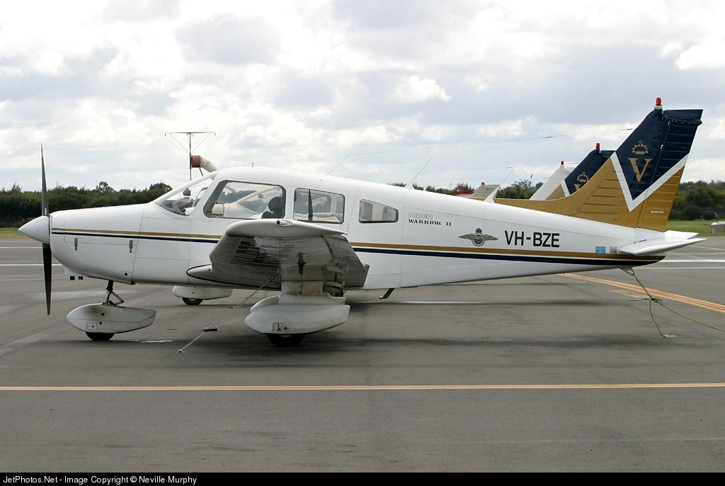 VH-BZE - Piper PA-28-161 Warrior II - Aero Club - Royal Victorian
