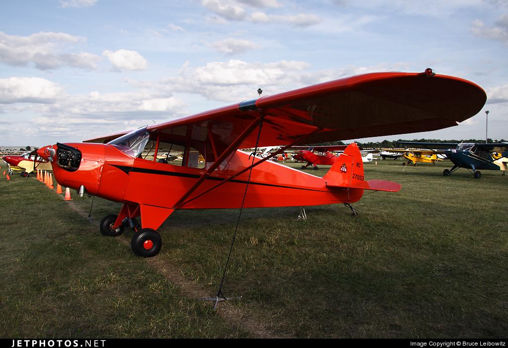 NC27053 - Piper J-5A Cub Cruiser - Private