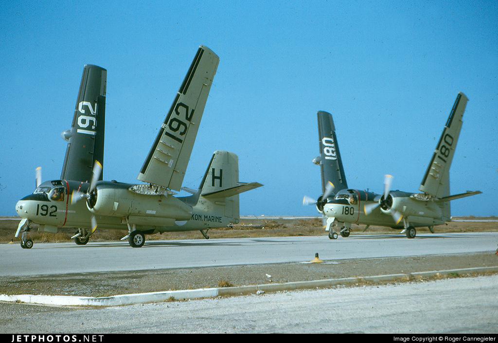 H-192 - Grumman S-2F-1 Tracker - Netherlands - Navy