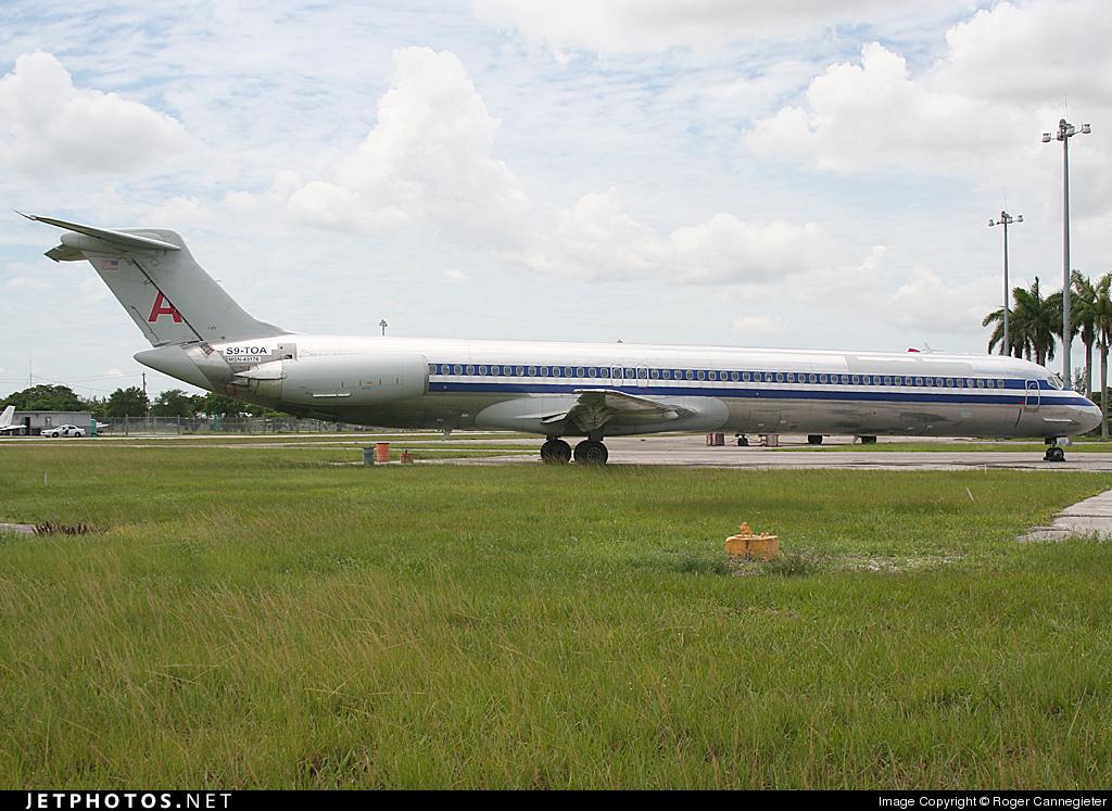 S9-TOA - McDonnell Douglas MD-83 - Transafrik International