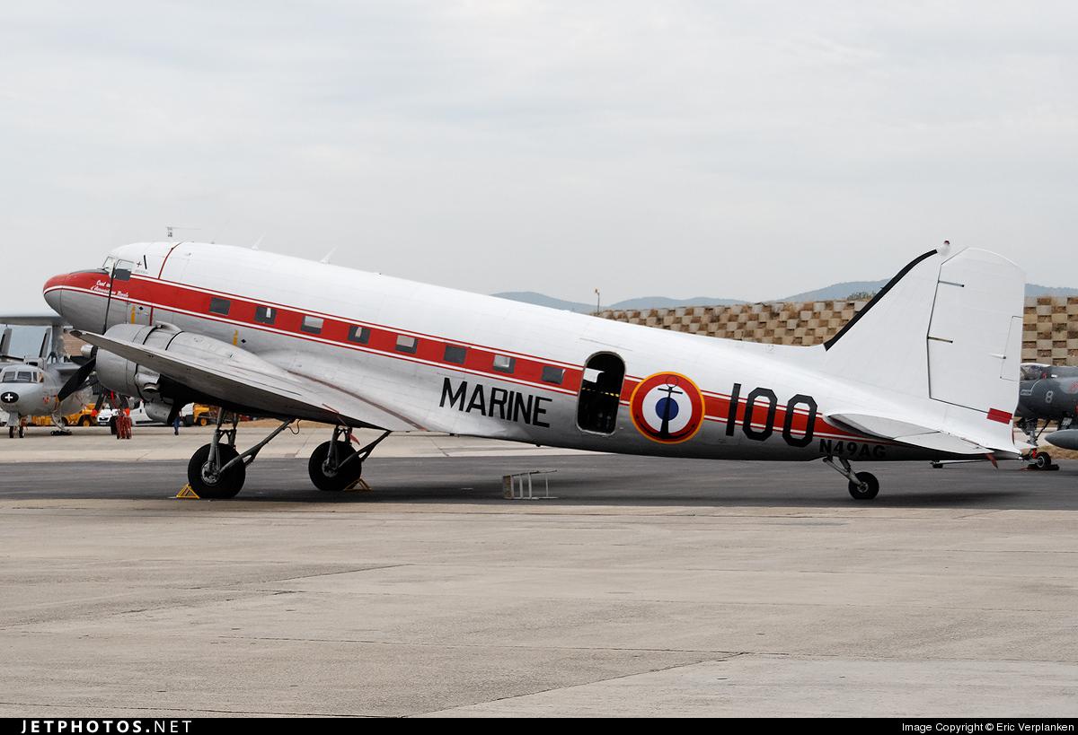 N49AG - Douglas DC-3A - Air Dakota Belgium