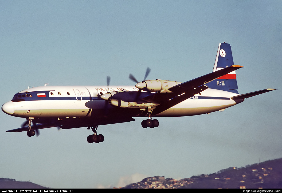 SP-LSH - Ilyushin IL-18 - LOT Polish Airlines